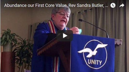 We Welcome Rev. Sandra Butler