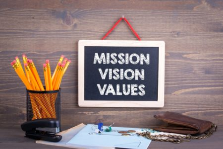 Our New Mission, Vision & Values